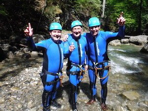 Canyoning Gäste in Bayern