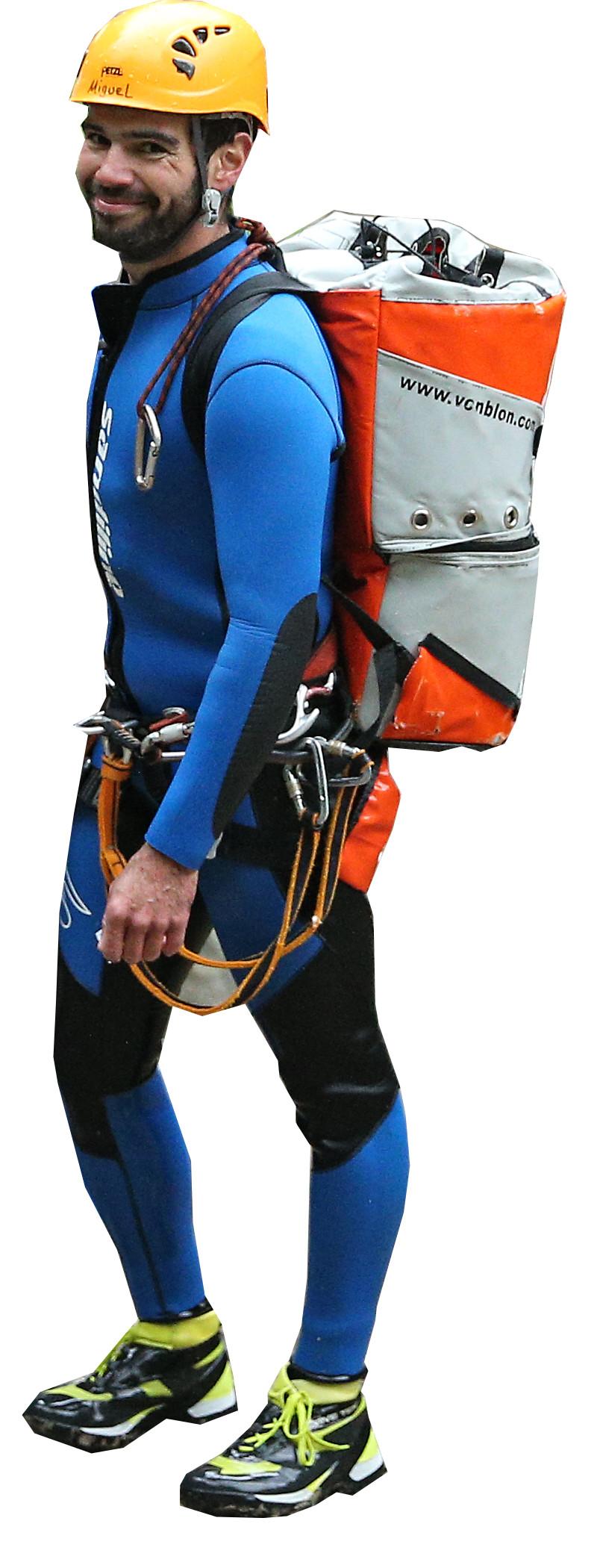 Canyoning Guide Ausruestung Bergwasser