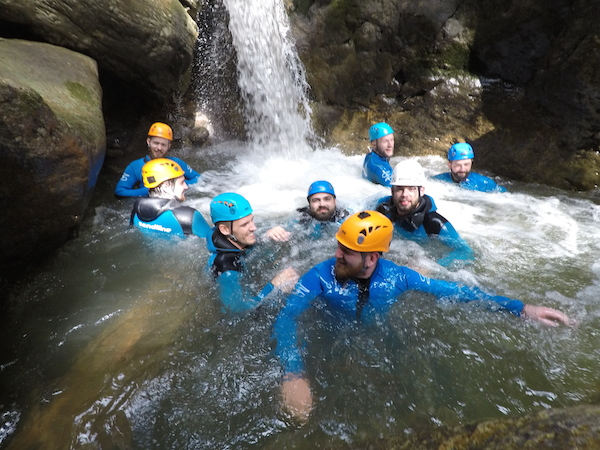 canyoning allgaeu