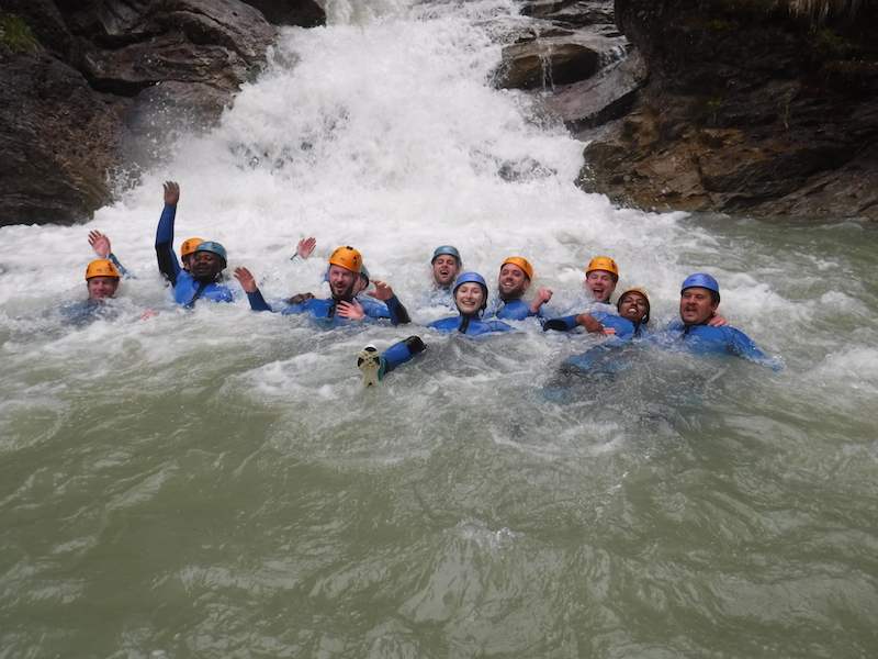 Bergwasser Rafting Allgaeu