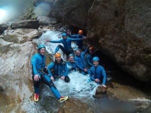 Rafting Canyoning Bergwasser