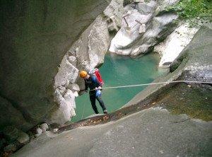 2canyoning allgaeu Val dAmbra inferiore