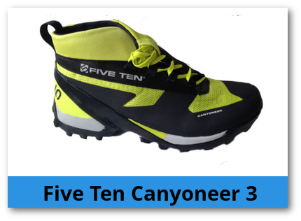 Canyoning Schuhe Five Ten Canyoneer 3