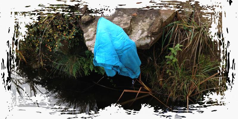 Canyoning Tessin Handtuch