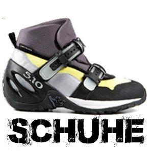 Schuhe für das Canyoning