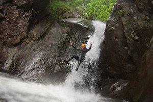 Canyoning Extrem im ALlgäu und Bayern