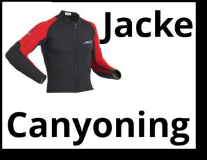 Canyoning Neoprenjacke