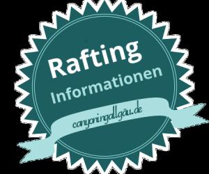 Alle Rafting Infos für das Allgäu