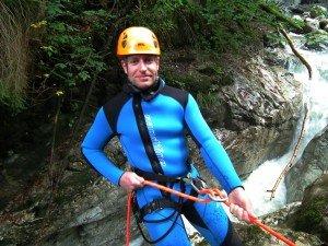 Canyoning in der Kobelache