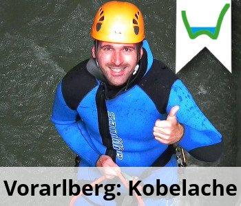 Canyoning Oesterreich Vorarlberg Kobelache1
