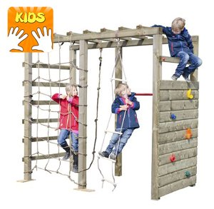 Kletterwandgerüst für Kids