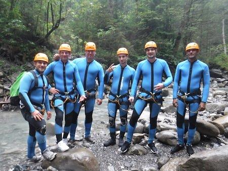 Canyoning Oesterreich Oetztal Bergwasser 1