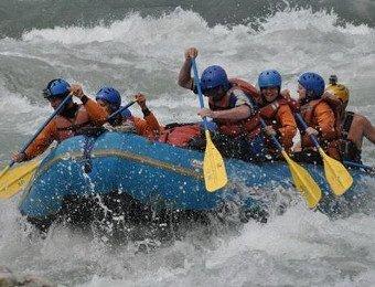 Imster Schlucht Rafting Allgaeu 003d