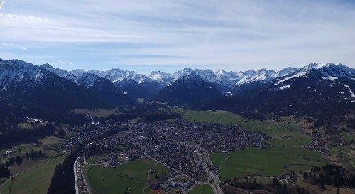 Oberstdorf im Allgäu zum Rafting
