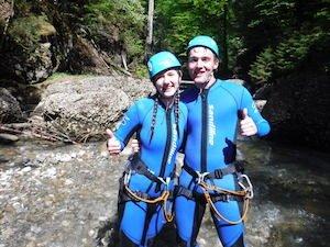 Bergwasser Canyoning Bayern Gunezsried 2