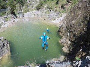 Canyoning Allgaeu Stuibenfaelle 1