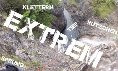 Super Canyoning Tour in Bayern