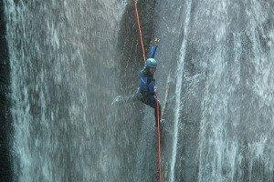 Canyoning Tessin Broggera Schweiz