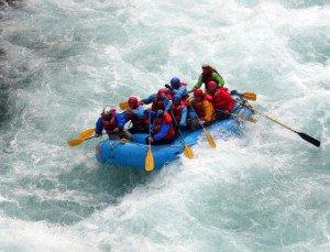 Rafting Bregenzer Ache