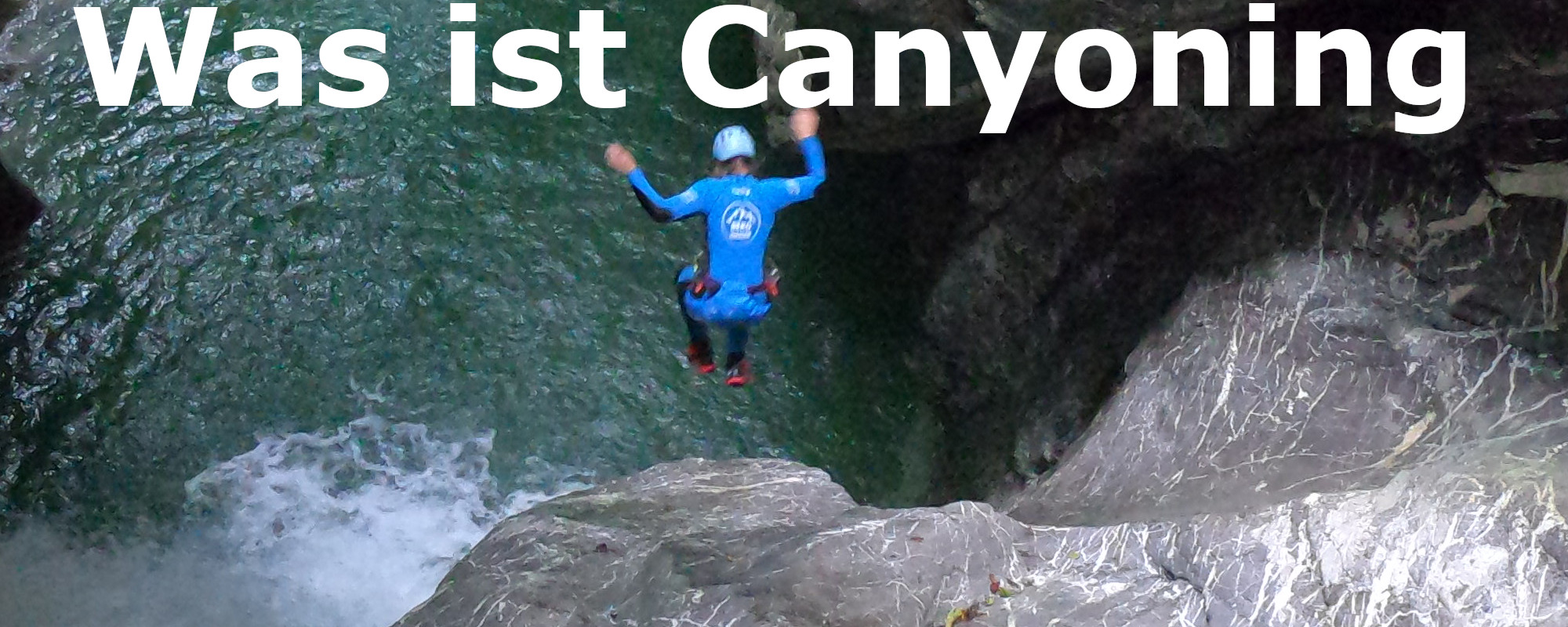 Was ist Canyoning